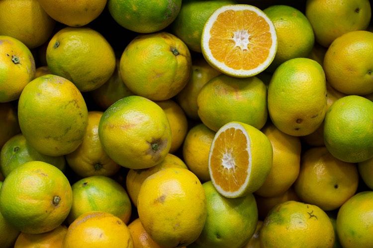 grapefruit vitamine c voeding blessures